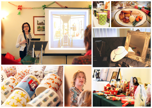 Wayland Women in Business Christmas lunch at Broom Hall