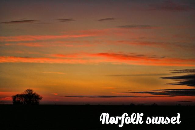A norfolk sunset