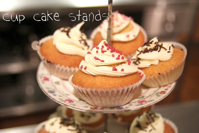 how to make a cake stand up