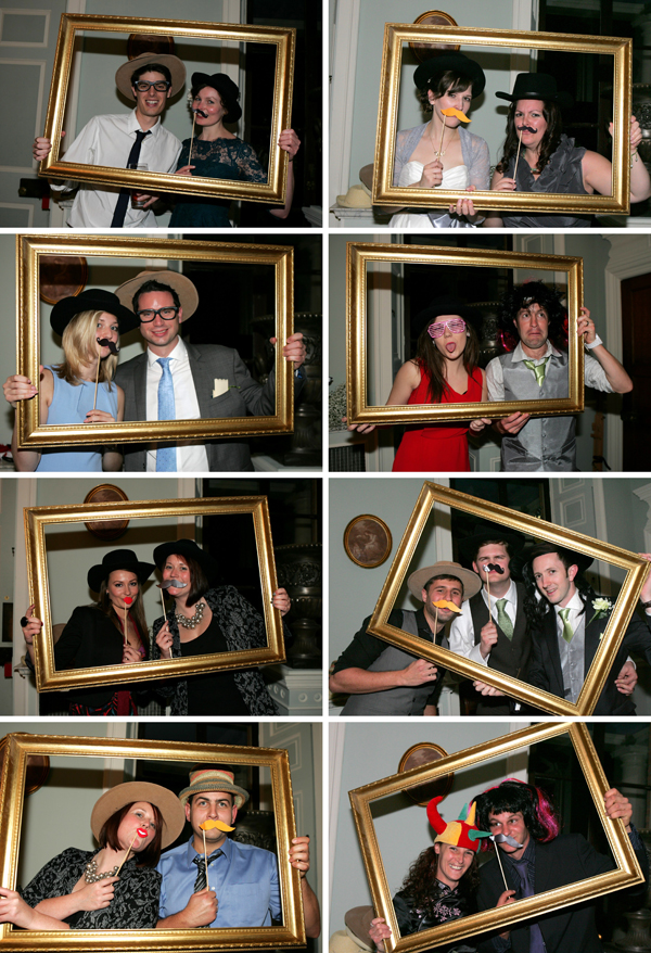Fun wedding booth photographs by Norfolk wedding photogrpaher 2up Photography